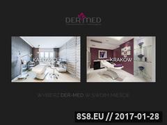 Miniaturka domeny www.dermed.pl