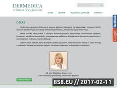 Miniaturka domeny www.dermedica.com.pl