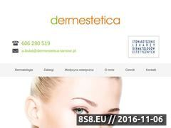 Miniaturka domeny www.dermestetica-tarnow.pl