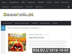 Miniaturka domeny desercik.pl