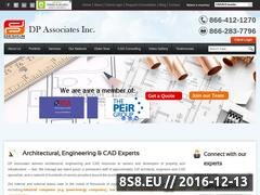 Thumbnail of Cad Drafting and conversion services Website
