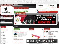 Miniaturka domeny www.deskorolki.pl