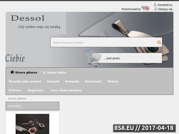 Zrzut strony DESSOL broszki