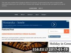 Thumbnail of Travel Destination Website
