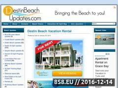 Destin oil spill Website