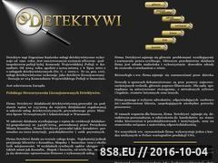 Miniaturka domeny www.detektyw-koszalin.pl