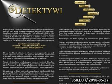 Zrzut strony Detektywi - detektyw Koszalin,wykrywacz kłamstw,wywiad gospodarczy