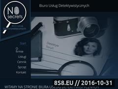 Miniaturka domeny www.detektyw-torun.pl