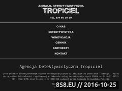 Miniaturka domeny detektyw-tropiciel.pl