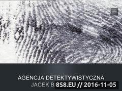 Miniaturka domeny detektywbanaszewski.pl