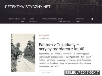 Zrzut strony Agencje detektywistyczne