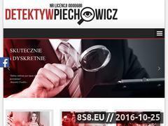 Miniaturka domeny www.detektywpiechowicz.pl