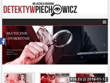 Zrzut strony Profesjonalne usługi detektywistyczne