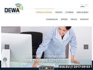 Zrzut strony Sprzątanie Szczecin