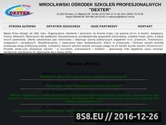 Miniaturka domeny www.dexter.com.pl
