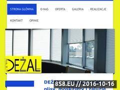 Miniaturka domeny www.dezal.pl