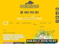 Miniaturka domeny dezino.pl
