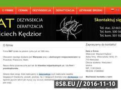 Miniaturka domeny www.dezynsekcja-deratyzacja.pl