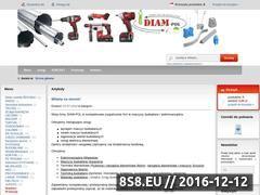 Miniaturka domeny www.diam-pol.pl
