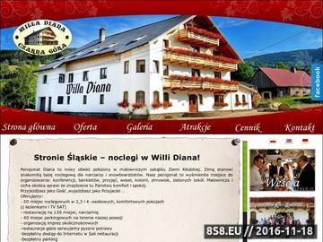 Zrzut strony Noclegi w Stroniu Śląskim