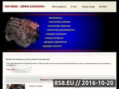 Miniaturka domeny diesel-service.waw.pl