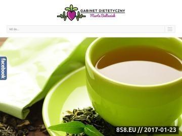 Zrzut strony Gabinet dietetyczny w Lublinie