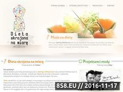Miniaturka domeny dietaskrojonanamiare.pl