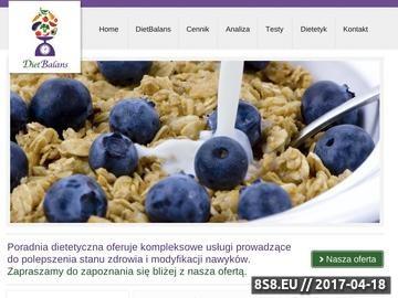 Zrzut strony Diet Balans Rzeszów