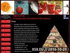 Miniaturka domeny www.dietetyk-meg.pl
