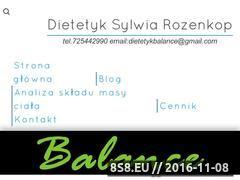 Miniaturka domeny dietetykbalance.pl