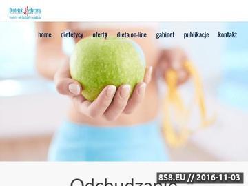 Zrzut strony Dietetyk - dieta, poradnictwo dietetyczne i dietoterapia