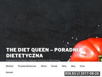 Zrzut strony Dietetyk Warszawa