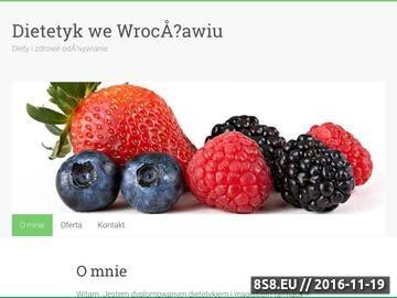 Zrzut strony Centrum Urody Clarena - Dietywroclaw.pl