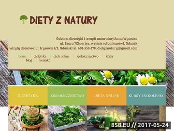 Zrzut strony Diety oraz odchudzanie, porady dietetyczne