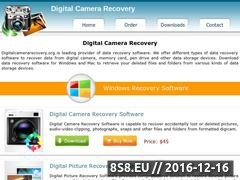 Thumbnail of Recover deleted pictures Website