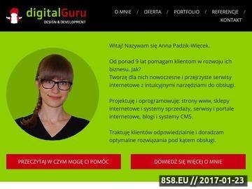 Zrzut strony Tworzenie sklepów internetowych Łódź