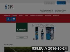 Miniaturka Internetowy sklep sportowy (dip24.pl)