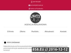Miniaturka Agencja Reklamowa DirtyDot (dirtydot.pl)