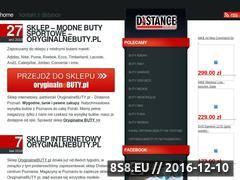 Miniaturka domeny distance.oryginalnebuty.pl