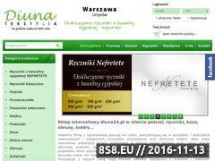 Miniaturka domeny www.diuna24.pl