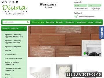 Zrzut strony Pościel - sklep internetowy