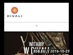 Miniaturka domeny www.divali.pl