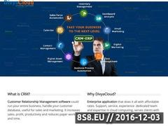 Thumbnail of Ecommerce Web Development Company - DivyaCloud Website