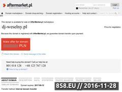 Miniaturka domeny dj-weselny.pl