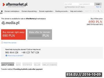 Zrzut strony Dj Błażej - wesele i inne imprezy w Lublinie i okolicach