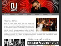 Miniaturka domeny www.djmarecki.pl