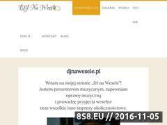 Miniaturka domeny www.djnawesele.pl
