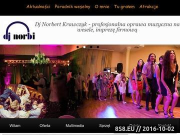 Zrzut strony Oprawa muzyczna na imprezę, wesele i sylwestra, w wykonaniu dj'a