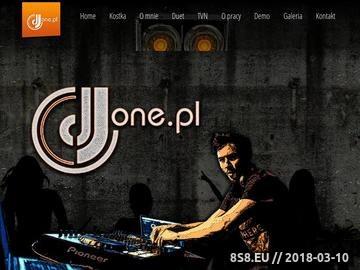 Zrzut strony DJ na imprezy firmowe