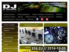 Miniaturka domeny djsound.pl